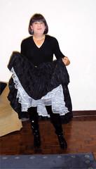 black-skirt--frilly-petticoat
