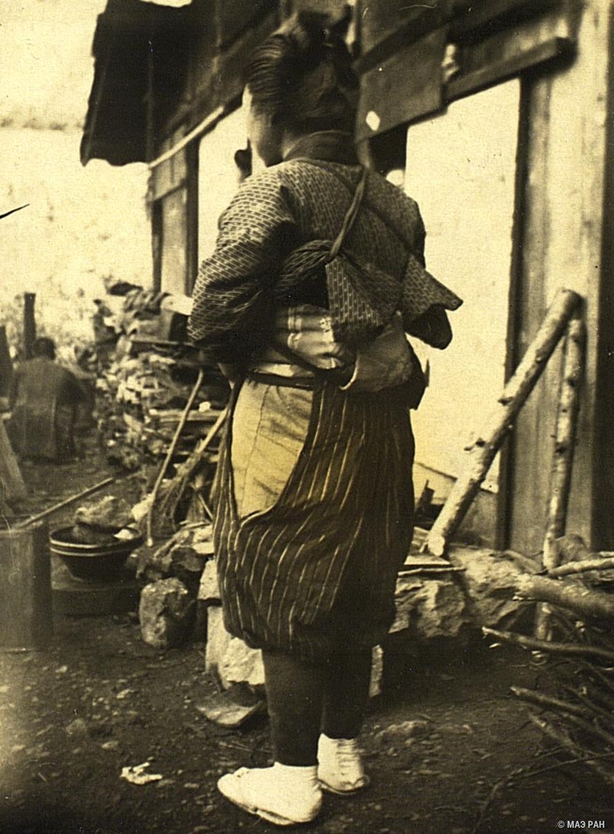 06. Крестьянка в рабочем костюме. Префектура Токио