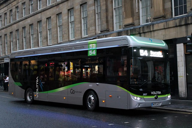 Go North East: 8807 / ND70 AEY