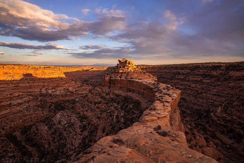 Thanksgiving Cedar Mesa Sunset