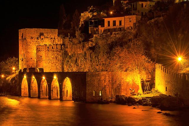Alanya Eski Tersane - Kale (Alanya Old Shipyard - Castle)