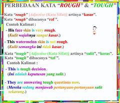 "Perbedaan Kata ""Rough"" & ""Tough"" beserta Contoh-Contoh Kalimatnya"