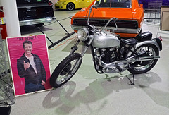 Kruse Museum 04-27-2019 108 - The Fonz Triumph Motorcycle MAYBE