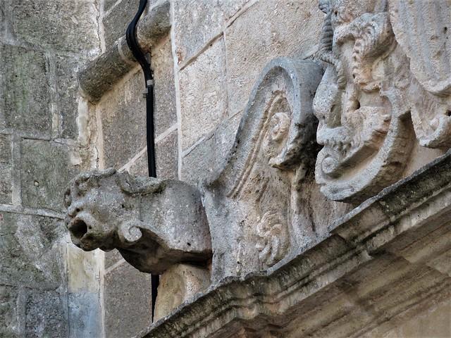 East portal detail, Parròquia Sant Francesc de Assís, Ciutadella, Menorca, Spain, Ciutadella, Menorca, Spain