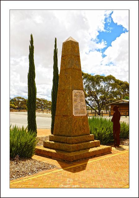 War Memorial, Midlands Road, Carnamah, Western Australia