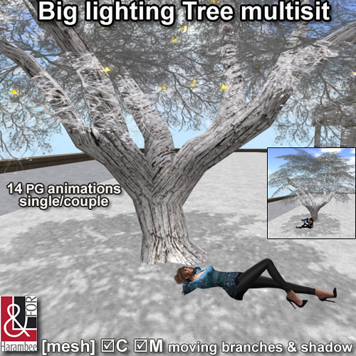 Big lighting Tree multisit