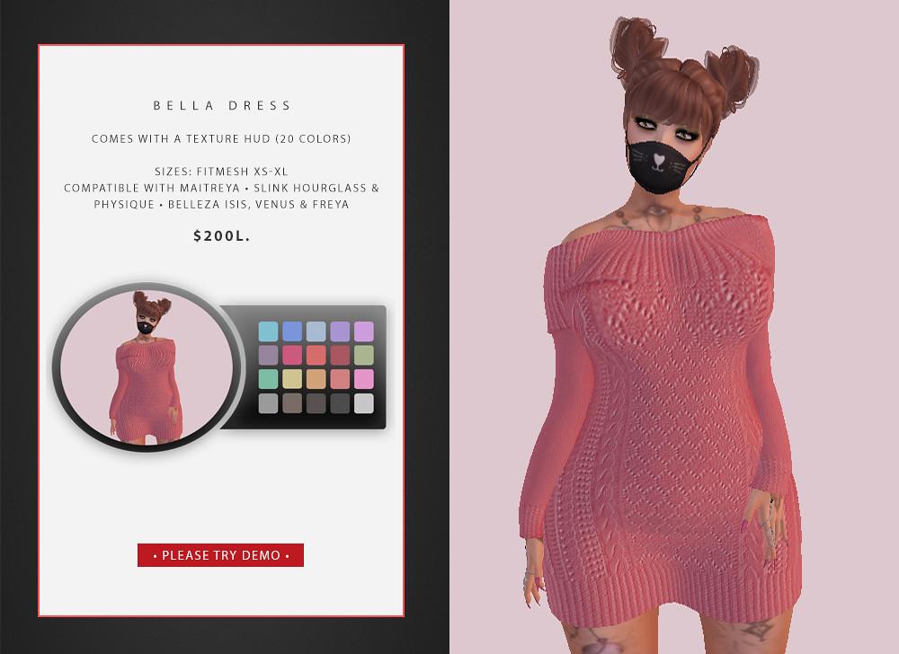 Bella Dress @ Shay Creations