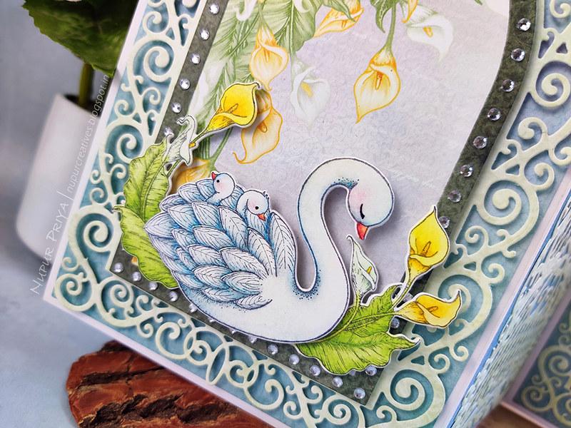 Trifold Swan Card_03
