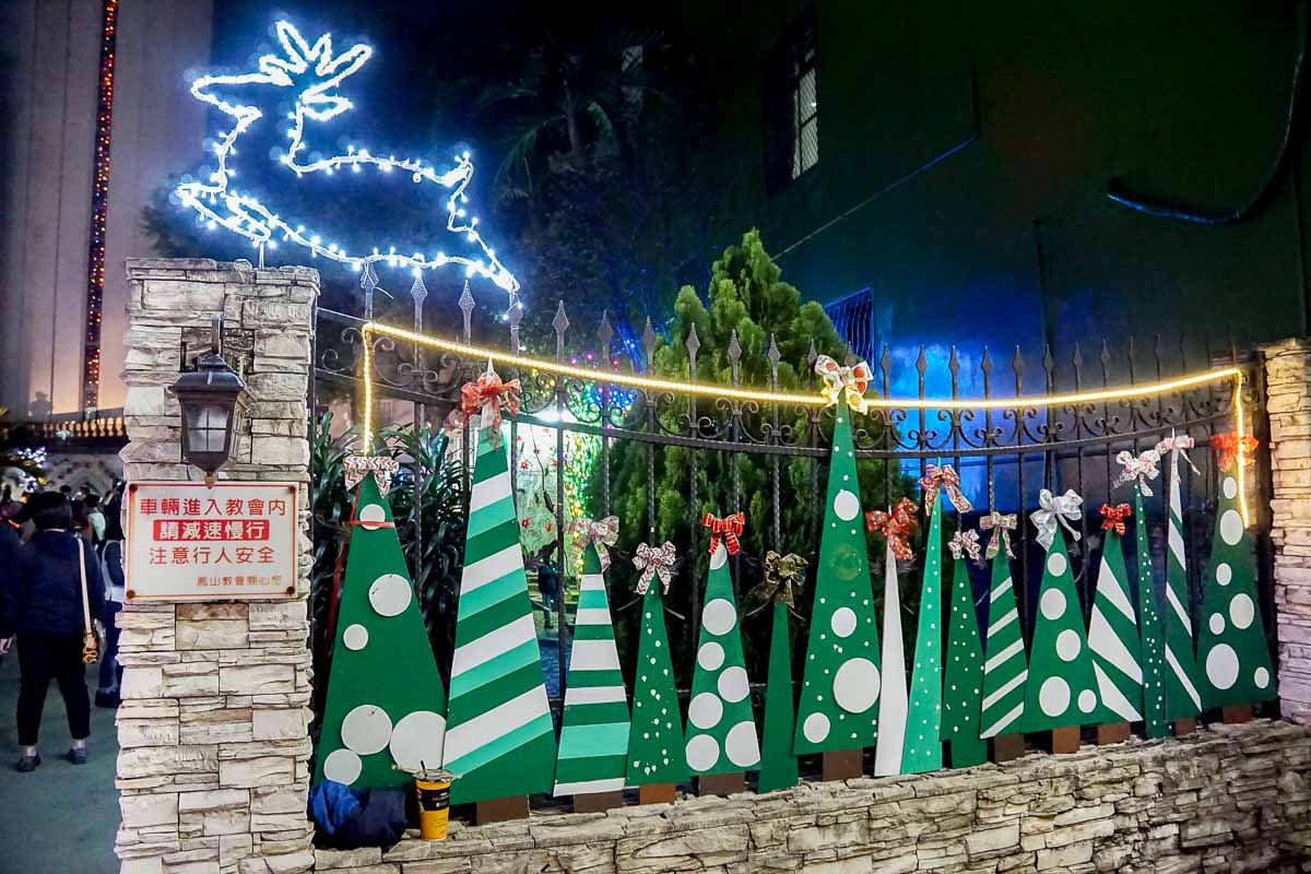 鳳山教會聖誕節裝飾-7