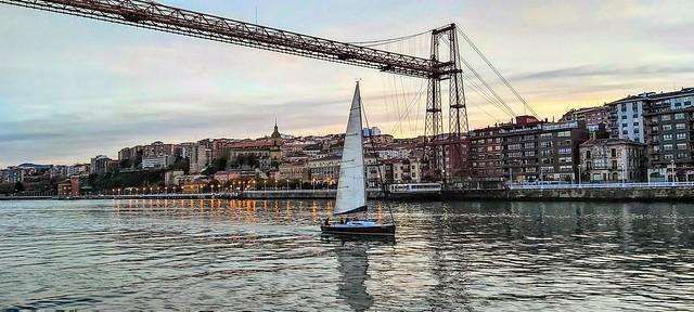 Puente de Bizkaia. Patrimonio de la Humanidad.
