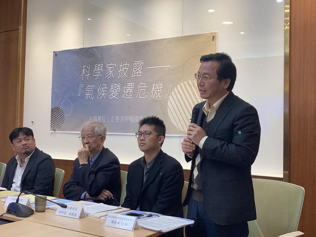 台大風險社會與政策研究中心主任周桂田。黃思敏攝