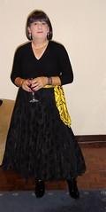 black-satin-skirt