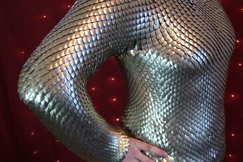 Scale armor Closeup