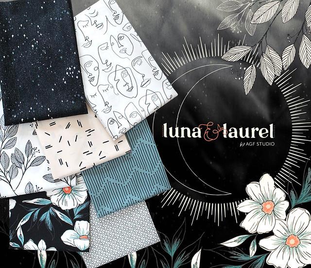 Art Gallery Fabrics Luna & Laurel Collection by AGF Studio