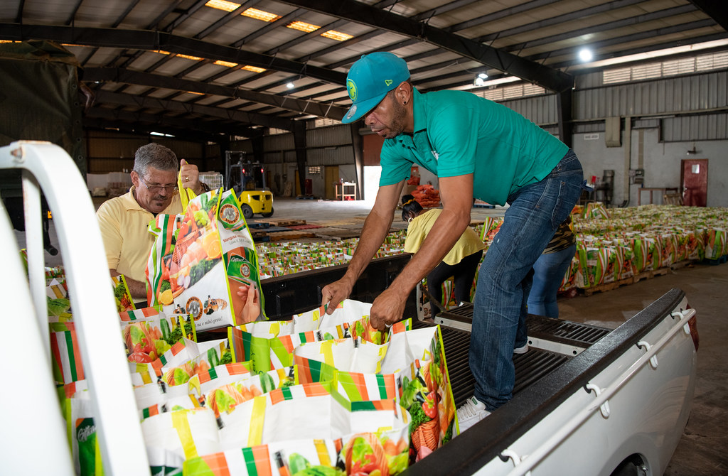 Food aid for the Dutch Caribbean