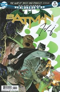 Batman 30 Signed Tom King