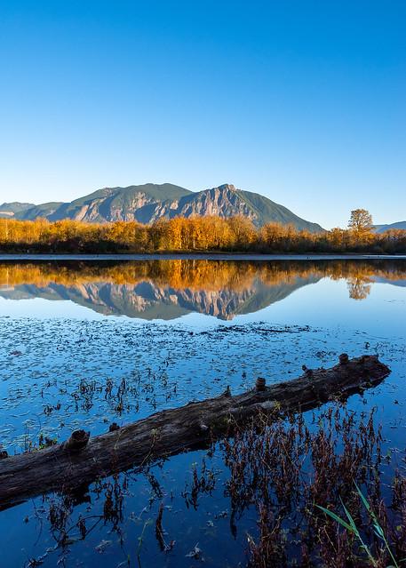 Borst Lake Shoreline Reflection
