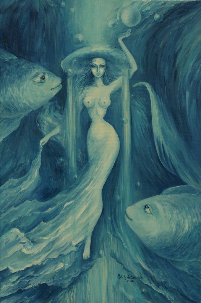 Painting by Natali Antonovich