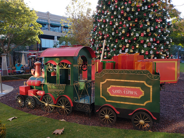 Side View of Santa's Express