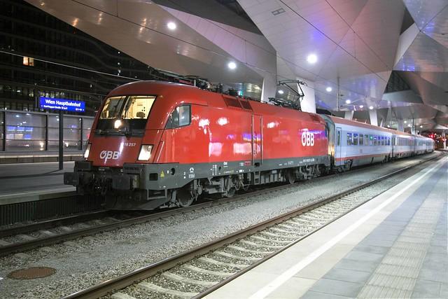 ÖBB 1116 257 Wien Hbf