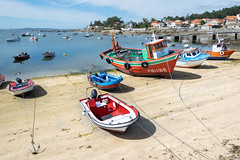 Los barcos de la isla de Arousa