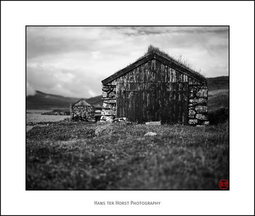 Shed on Sørvágsvatn lake, Faroe Islands | by Hans ter Horst Photography