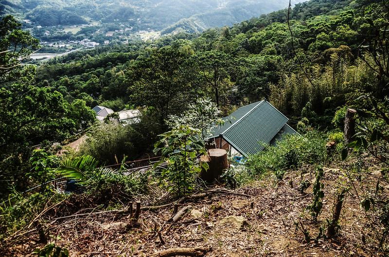 象、神稜線開發山坡地