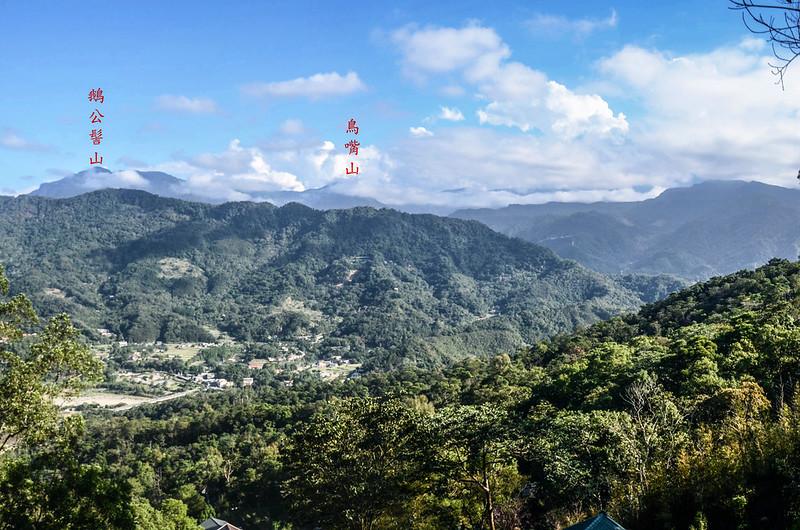 象、神稜線東南遠眺鵝公髻山、鳥嘴山等五峰天際線 (2)