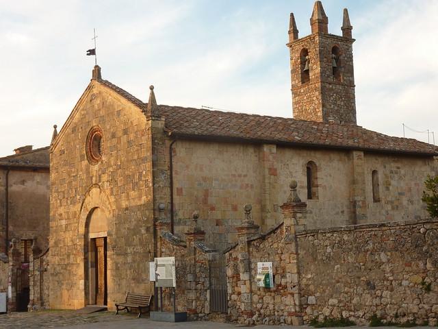 Monteriggioni - Chiesa di Santa Maria
