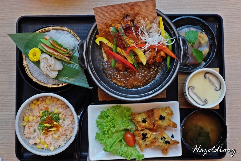 Ichiban Boshi-Spicy Chicken Sugiita-yaki Gozen
