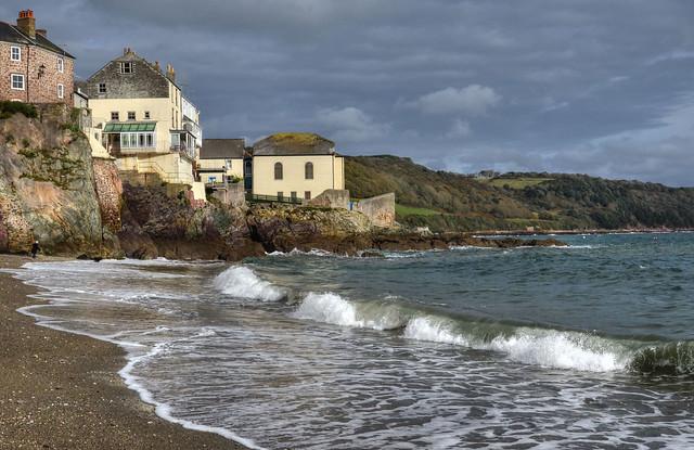 The coast at Cawsand, Cornwall