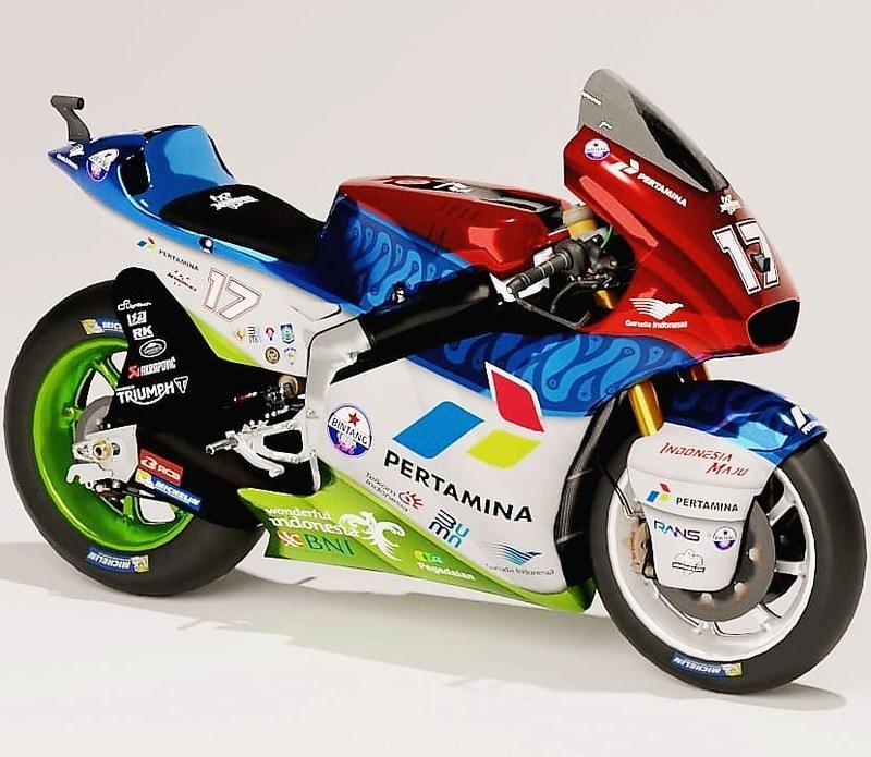 Mandalika Racing Team Livery