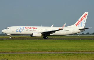 Air Europa Boeing 737-85P(WL) EC-JBK