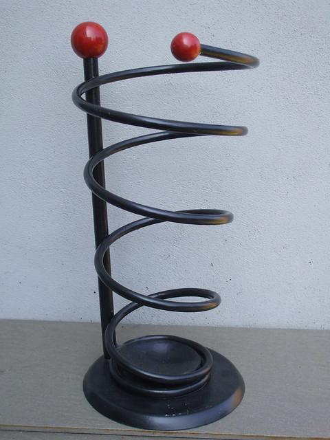 Vintage 1950's French Atomic Design Umbrella Stand Mid Century Modern Design