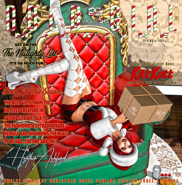 Good Girl Magazine December 12 Babes of Christmas 3