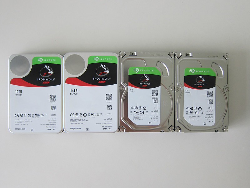 QNAP TS453D - Seagate IronWolf Hard Drives
