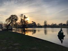 Sundown Pond Reflections