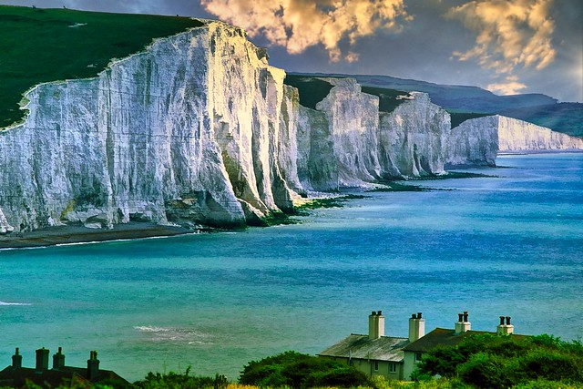 Beachy Head, Seven Sisters Cliffs, East Sussex, England