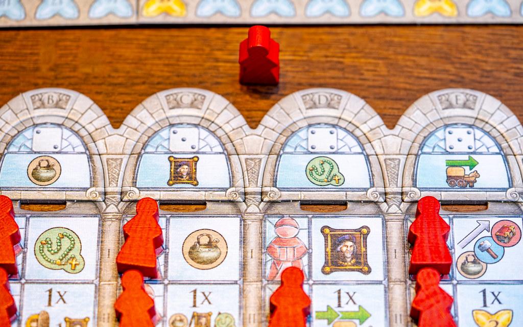 Monasterium boardgame juego de mesa
