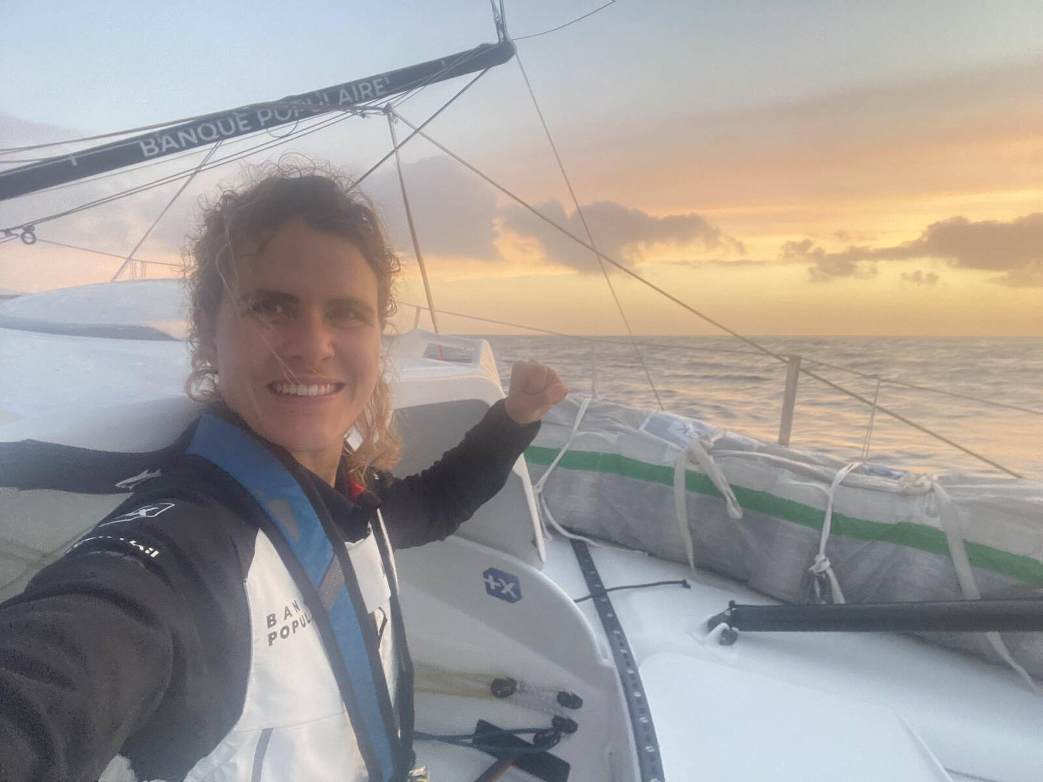 Clarisse Crémer - Vendée Globe - 29/11/2020