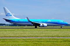 PH-BXZ 737-8K2 KLM  Schiphol 18-06-17