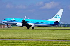 PH-BXY 737-8K2 KLM  Schiphol 17-06-17