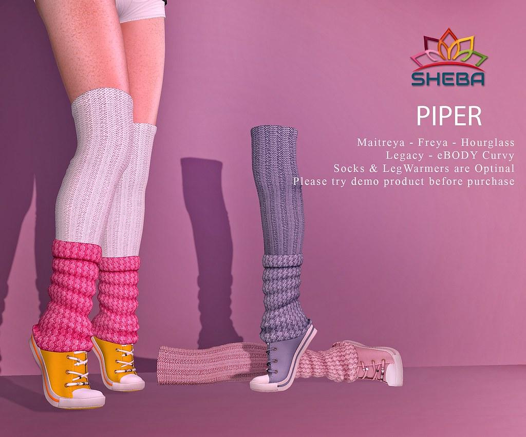 [Sheba] Piper sneakers with Socks @Cosmopolitan