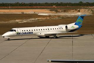 F-OIJF. EMB-145. Air Caraibes. SDQ.