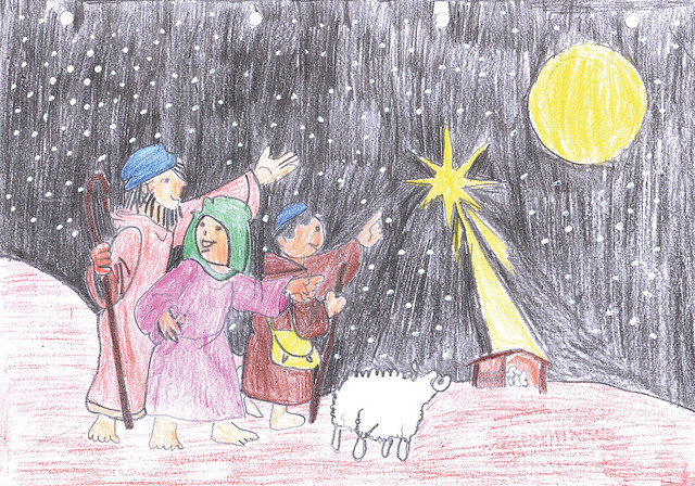 """Winners of the """"Christmas"""" Drawing Contest November 2020"""