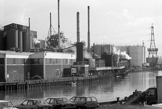 Pura Foods, Bow Creek, Tower Hamlets, 1989 89-4c52_2400