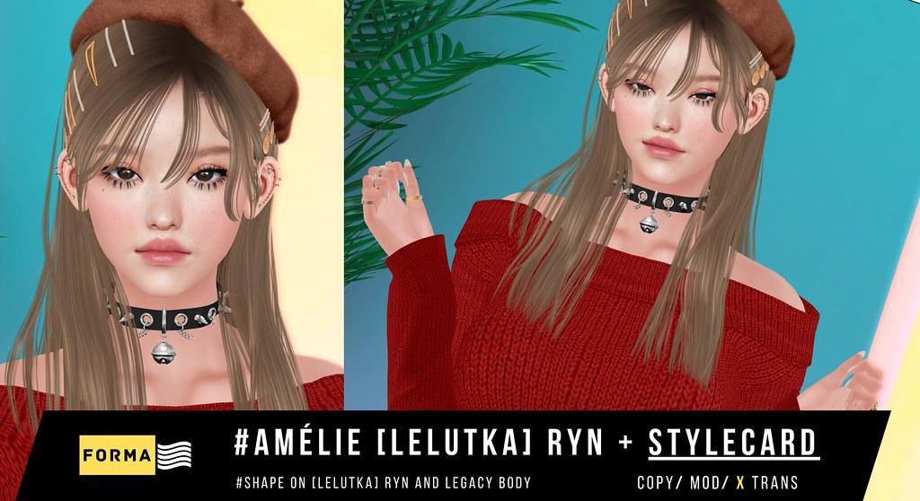 #Amélie [lelutka] ryn + STYLECARD