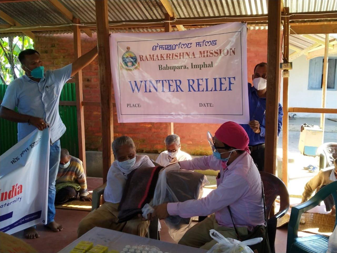Kumbi Winter Relief Poor & Elderly 14.11.2020