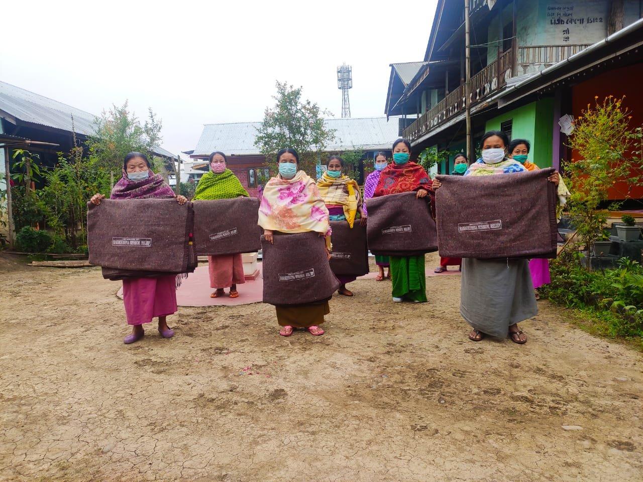 Ramesh Winter Relief Poor & Elderly 17.11.2020