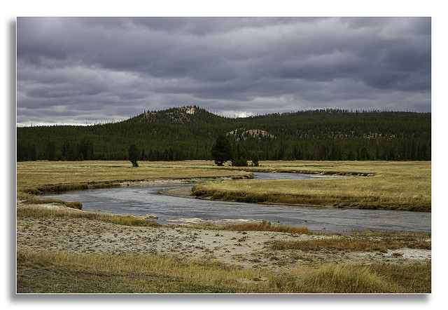 Road trip Revisited - Yellowstone Meandering Stream